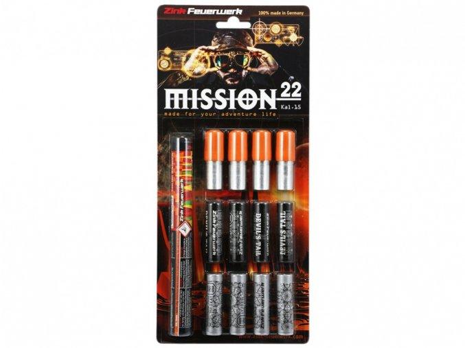 Pyro světlice Mission set 22ks