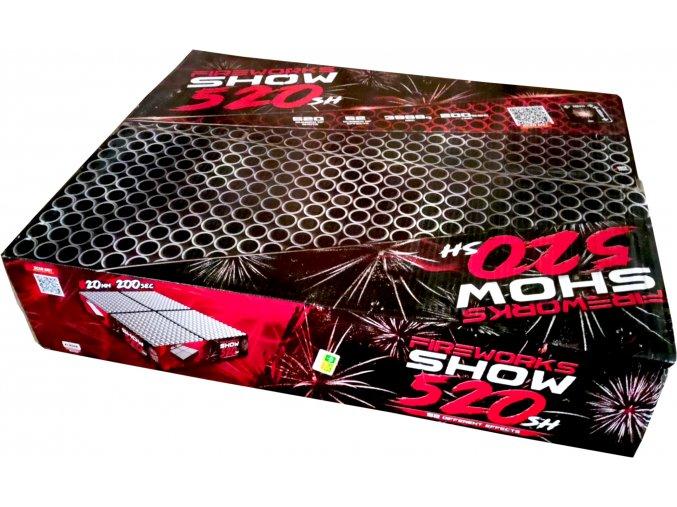 Pyrotechnika Kompakt 520ran / 20mm Fireworks show 520