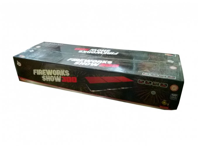 Pyrotechnika Kompakt 300ran / 25mm Fireworks show 300