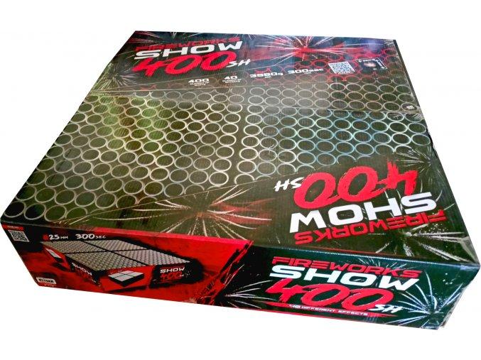 Pyrotechnika Kompakt 400ran / 25mm Fireworks show 400