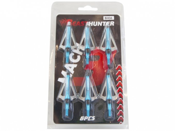 Hroty lovecké Beast Hunter Mach3 6ks
