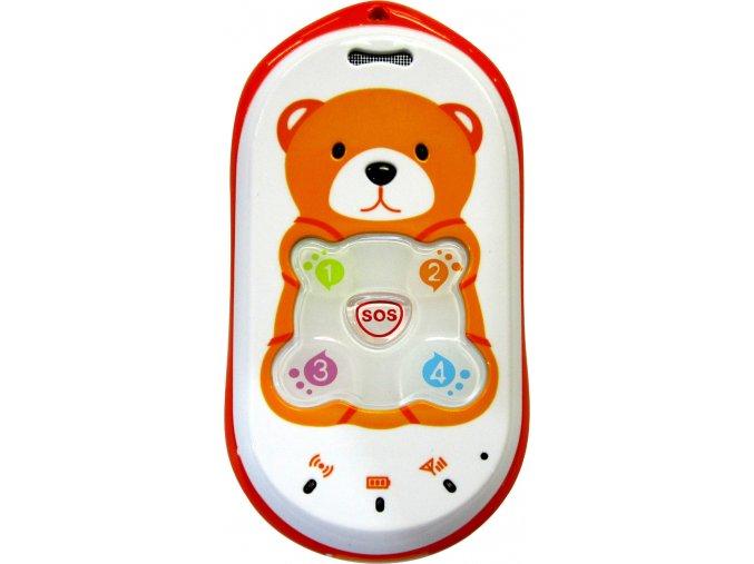 Dětský GSM telefon s lokatizátorem GPS, GPRS a LBS