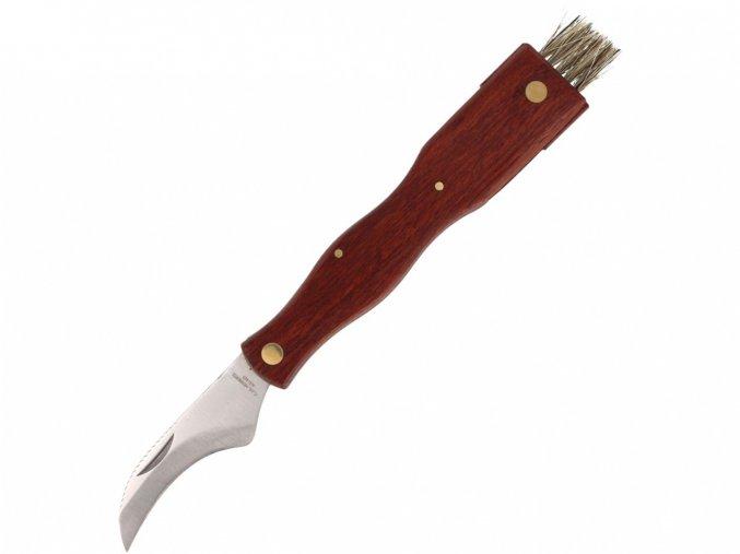 Nůž Herbertz Solingen houbařský s otočným štětečkem