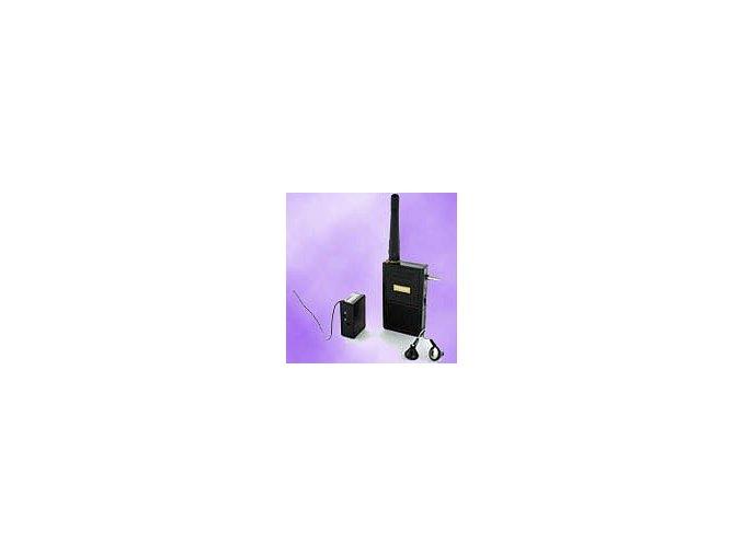 Bezdrátový UHF odposlech až 3km