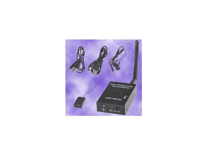 Bezdrátový odposlech s nahráváním na SD kartu