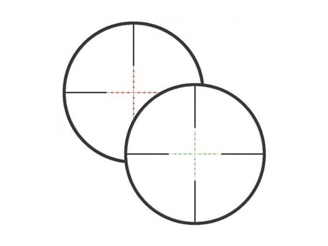 Puškohled RAVEN 6x40 AO SIR Mil-Dot