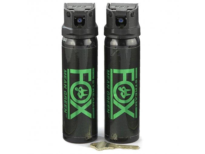 Pepřový sprej Mean Green 118 ml clona