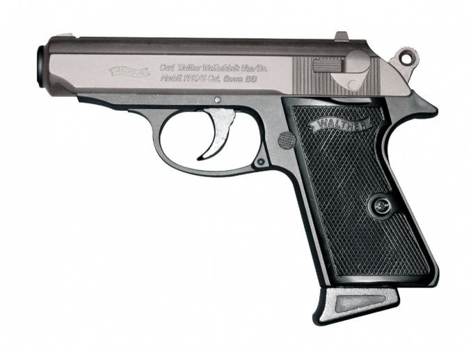 Airsoft Pistole Walther PPK/S bicolor ASG