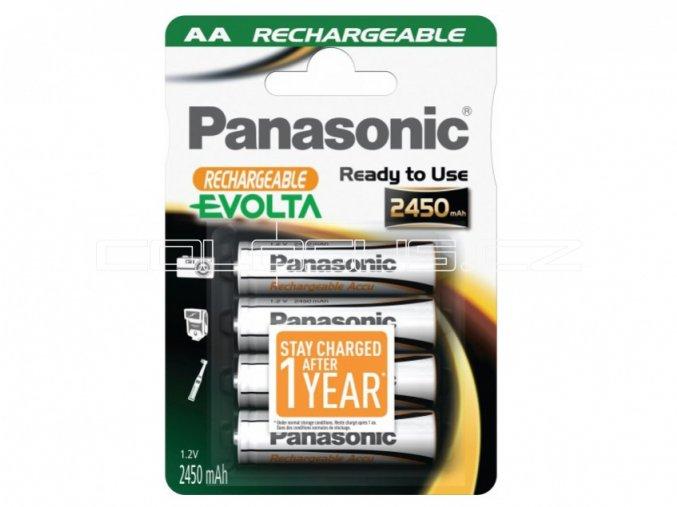 Baterie Panasonic Evolta AA-P6i Ni-Mh 2450mAh 1,2V 1ks