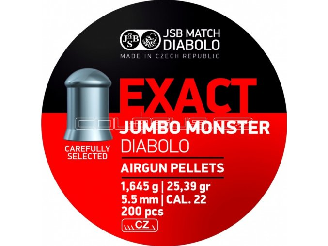 Diabolo JSB Exact Jumbo Monster 200ks cal.5,52mm