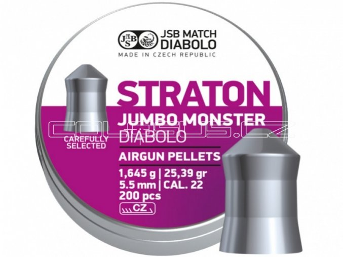 Diabolo JSB Jumbo Straton Monster 200ks cal.5,51mm