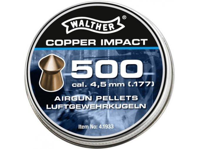 Diabolo Walther Copper Impact 500ks cal.4,5mm