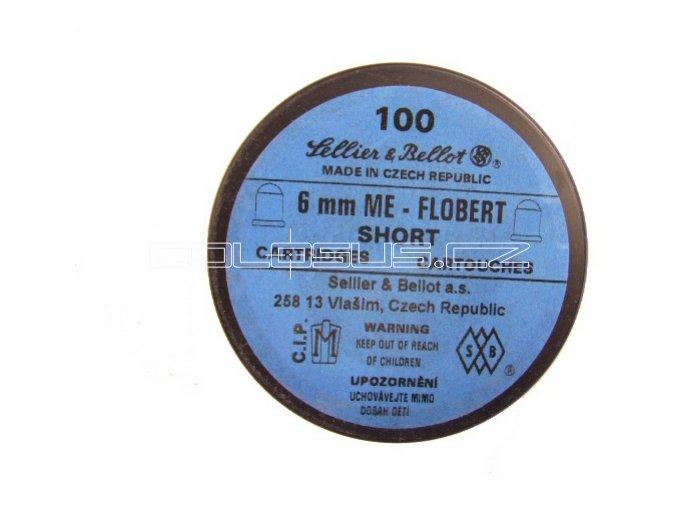 Flobertové náboje cal. 6mm kulička 100ks