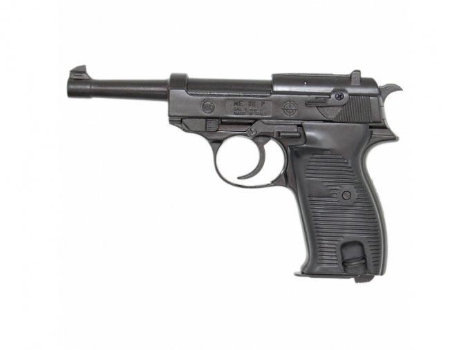 Plynová pistole Bruni P38 černá cal.8mm