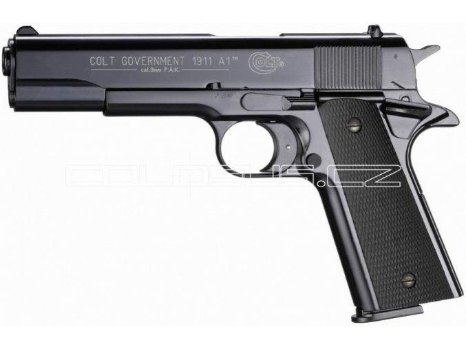 Plynová pistole Colt Government 1911 A1 černá cal.9mm