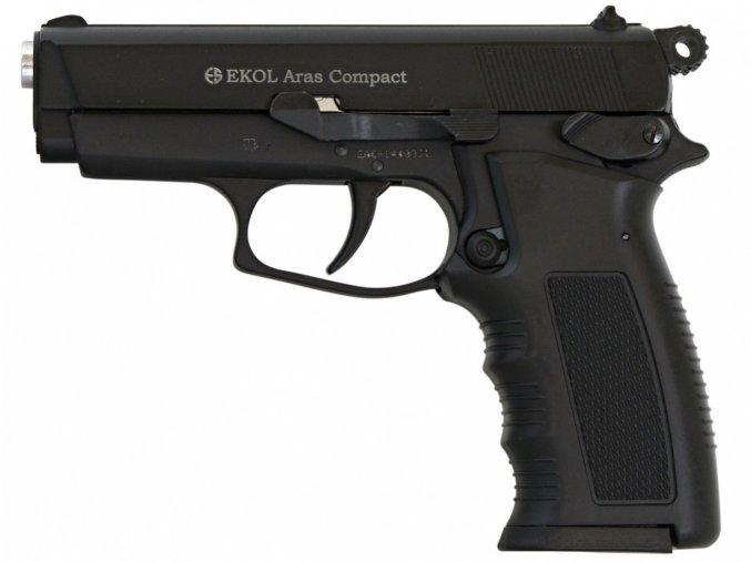 Plynová pistole Ekol Aras Compact černá cal.9mm