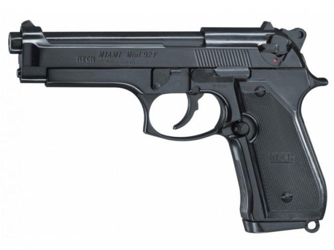 Plynová pistole Reck Miami 92F černá cal.9mm