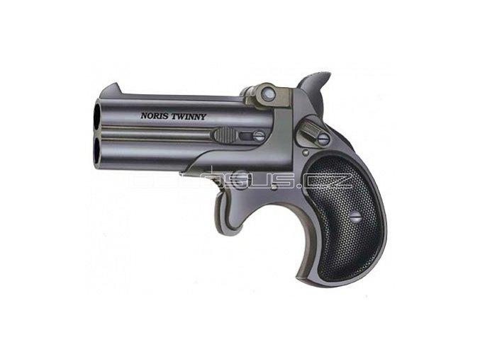 Plynová pistole ROHM Derringer černý cal.9mm