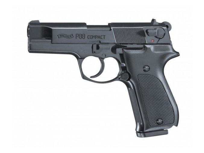 Plynová pistole Walther P88 Compact černá cal.9mm
