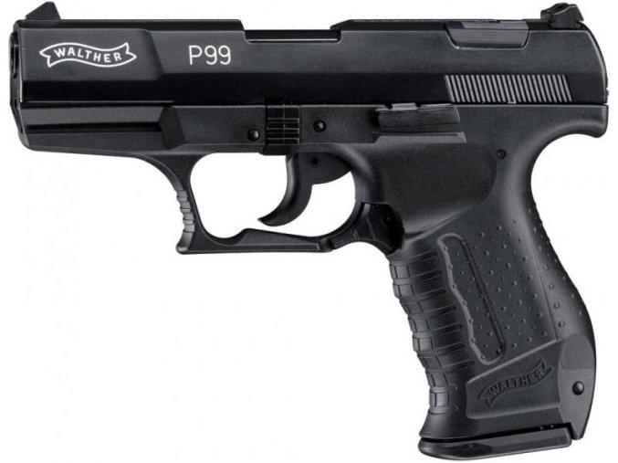 Plynová pistole Walther P99 černá cal.9mm