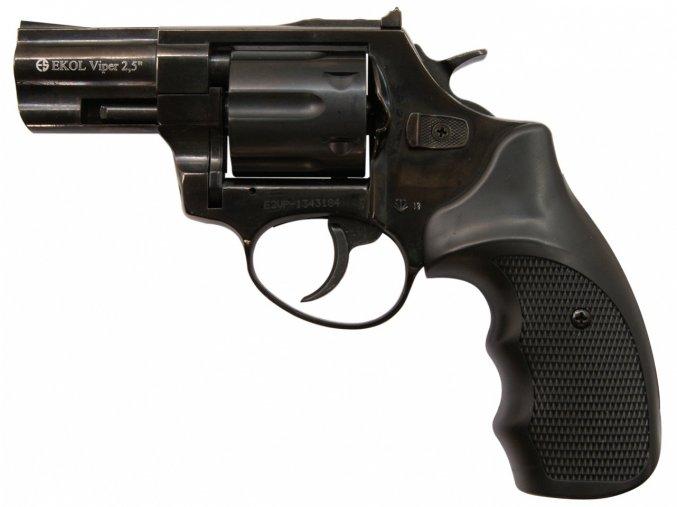"""Plynový revolver Ekol Viper 2,5"""" černý cal.9mm"""