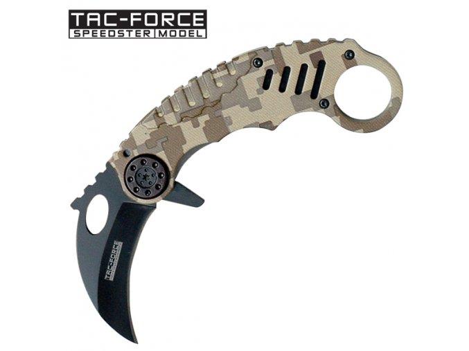 "Tiger Force Nůž ""Tiger Claw"" Karambit"