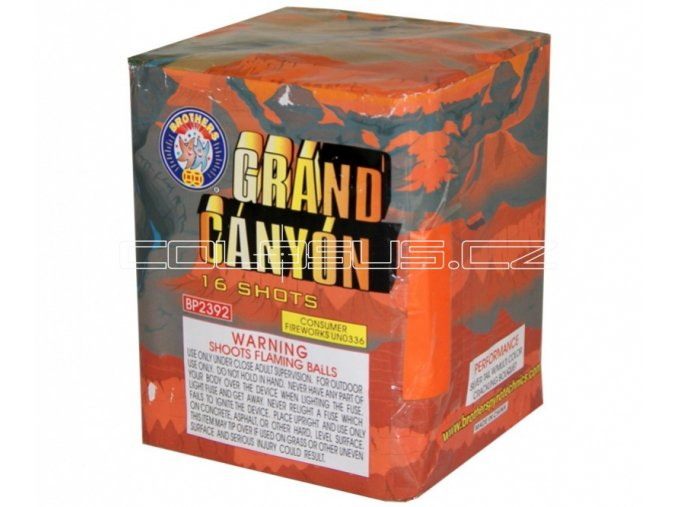 Pyrotechnika Kompakt 16ran / 20mm Grand Canyon