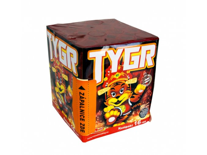 Pyrotechnika Kompakt 16ran / 20mm Tygr