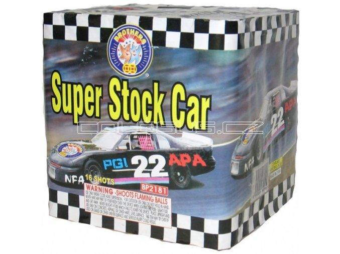 Pyrotechnika kompakt 16ran / 30mm Super Stock Car