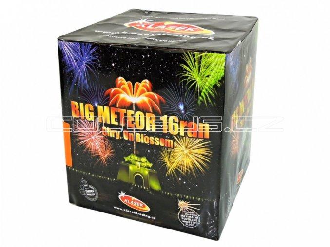 Pyrotechnika Kompakt 16ran / 50mm Big Meteor RW