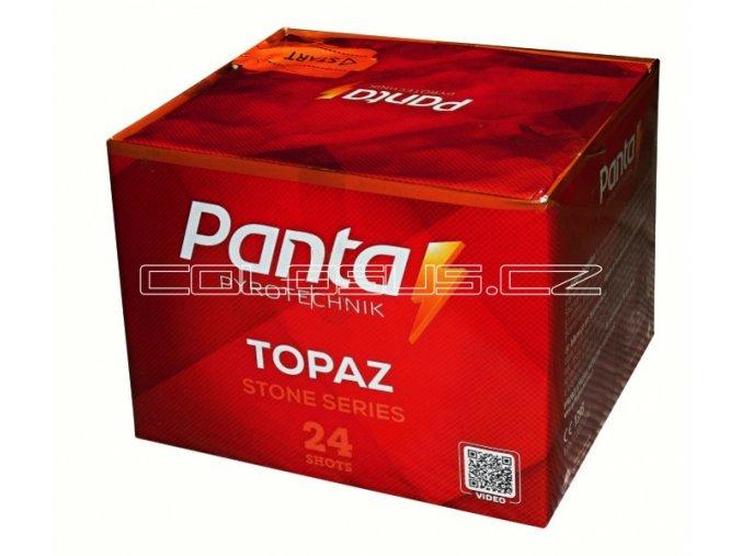Pyrotechnika Kompakt 24ran / 20mm Topaz