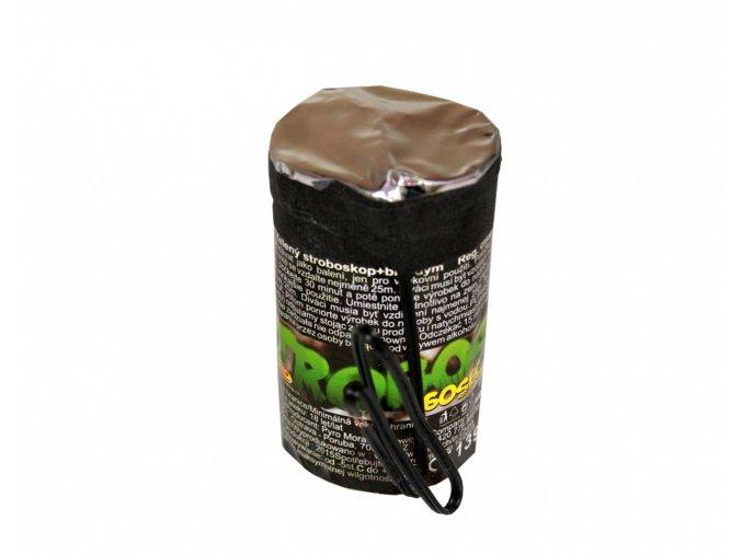 Pyrotechnika Zelený Stroboskop + Bílá dýmovnice