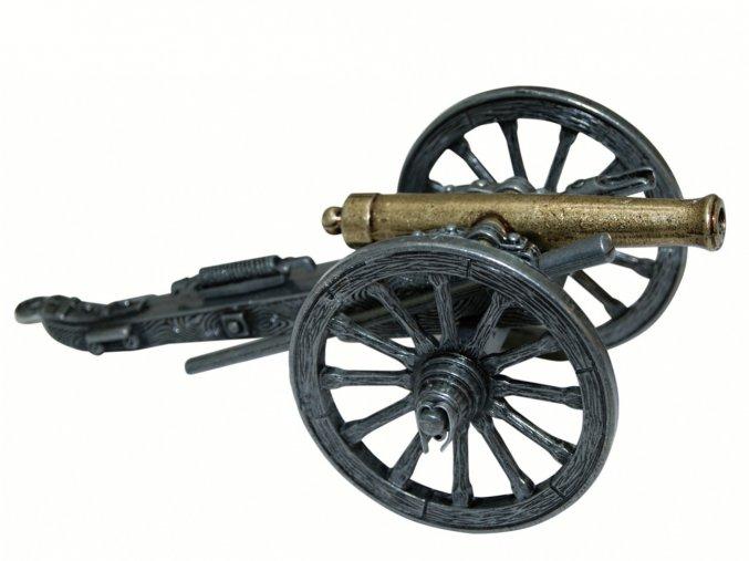 Replika Dělo -  kovový kanón, model USA 1861 válka Sever proti Jihu