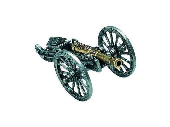 Replika Dělo - Miniaturní kov.kanón, model Napoleon