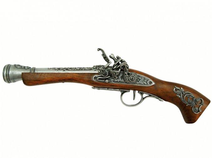 Replika mušketa 18. století pro leváky