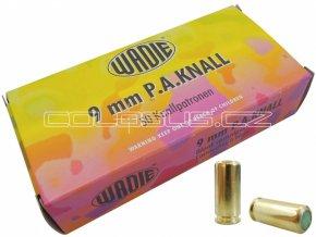 Startovací náboje 9mm pistole 50ks Wadie