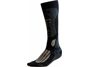 Ponožky BATAC Mission MI01 vel. 44-46 - black/gold
