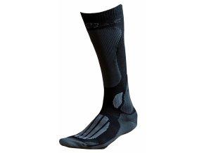 Ponožky BATAC Mission MI01 vel. 36-38 - black/grey