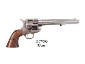 "Replika Revolver ráže 45, USA 1873 , 7 1/2"" chrom"