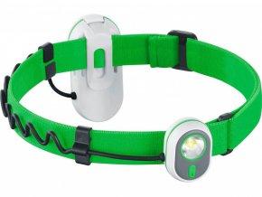 Čelová svítilna Alpina Sport AS01 zelená