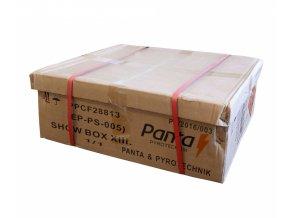 Kompaktní ohňostroj SHOW BOX XIII. 288ran / 20mm