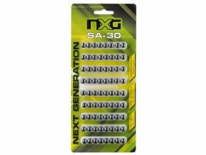 Ocelové kuličky do praku NXG SA30 72ks