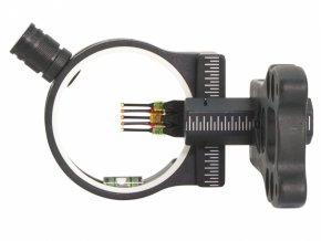 Mířidla pro luky 5 pin TruGlo s vodováhou