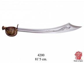 Replika Meč Piráta H. Barbarossa