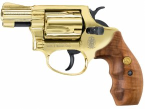 Plynový revolver Smith&Wesson Chiefs Special gold cal.9mm