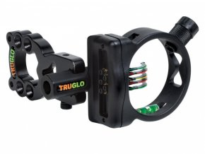 Mířidla pro luky TruGlo Rite-Site XS 5 Pins Black