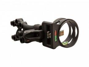 Mířidla pro luky TruGlo Carbon XS Xtreme 5 Pins Black