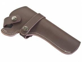 Opaskové pouzdro kožené Colt SAA hnědé