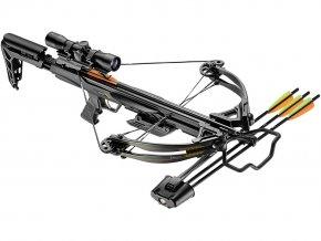 Kuše Beast Hunter Blade 175lb black Deluxe Set