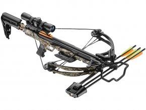 Kuše Beast Hunter Blade 175lb camo Deluxe Set